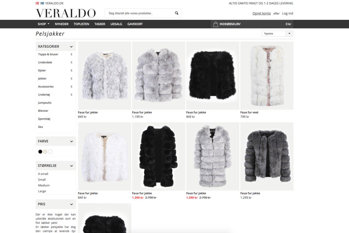 d4c7c77a Faux Fur | Vi har samlet de mest populære faux fur jakker ét sted