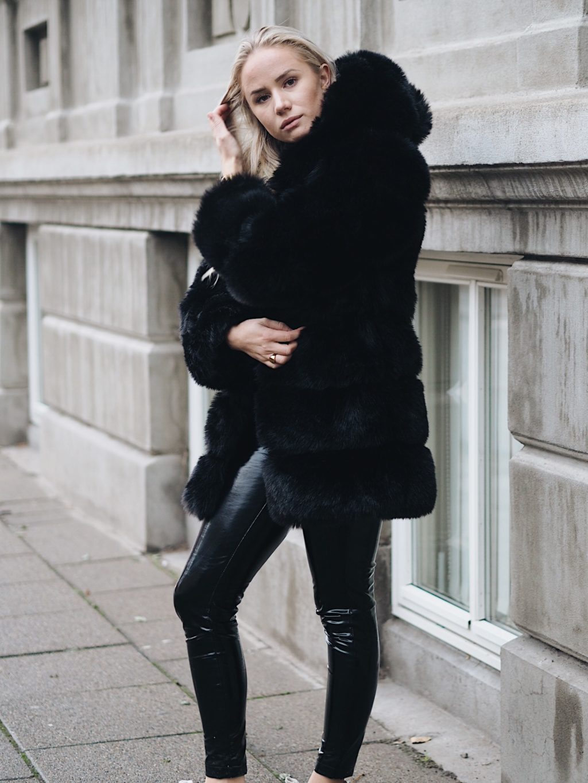 Faux fur jakker fra byic